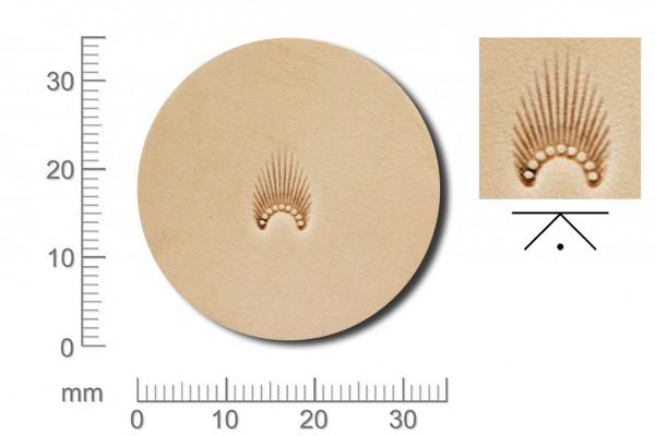 Rickert - Punziereisen / Prägewerkzeug N301 ( 2c-17 )