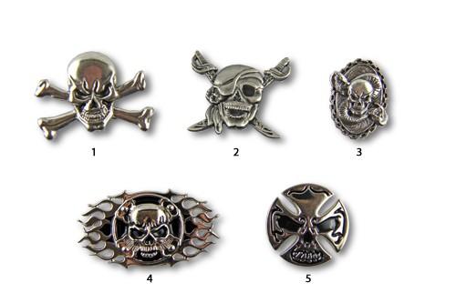 Concho Biker / Skull I