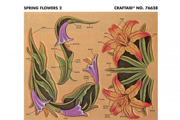 """Craftaid / Schablone """"Spring Flowers 2"""""""