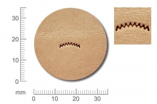 Punziereisen / Prägewerkzeug / Lederstempel V462 ( S II-11 )