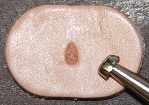 Punziereisen / Prägewerkzeug / Lederstempel P236 ( TF-05 )