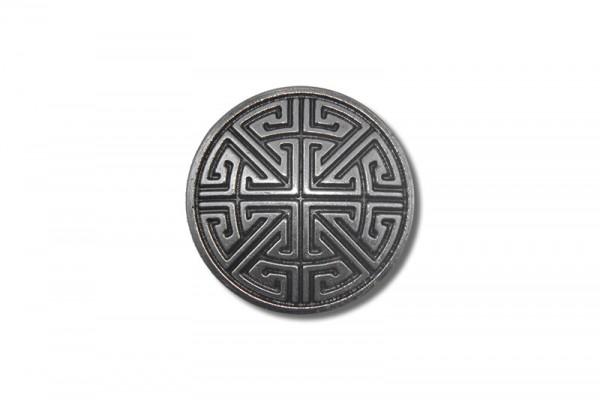 Concho, Celtic Key Pattern 1 (antik silber)