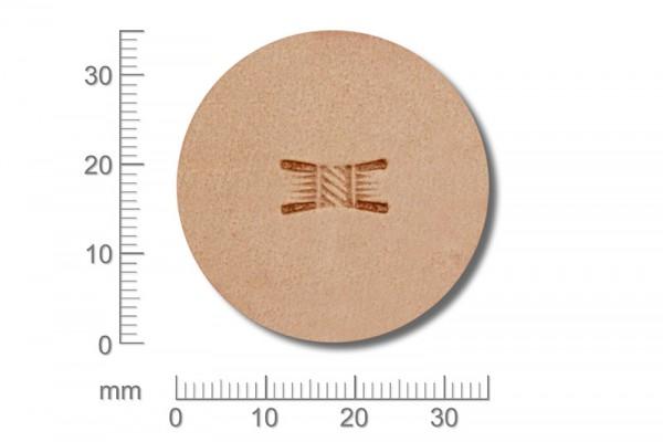 Punziereisen / Prägewerkzeug / Lederstempel X513 ( D II-05 )