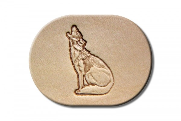 """Stamping Tool """"Howling Coyote"""""""