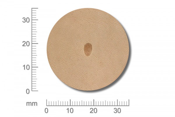 Punziereisen / Prägewerkzeug / Lederstempel P973 ( D V-10 )