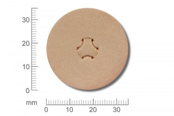 Punziereisen / Prägewerkzeug / Lederstempel X502S ( D III-02 )