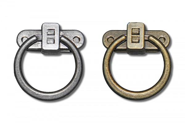 Taschenverschluss mit Ringverriegelung