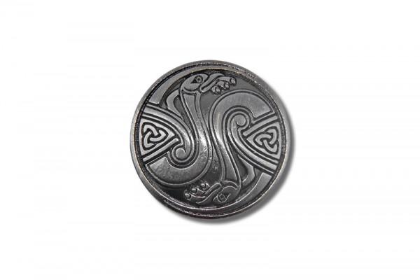 Concho, Celtic Birds (antik silber)