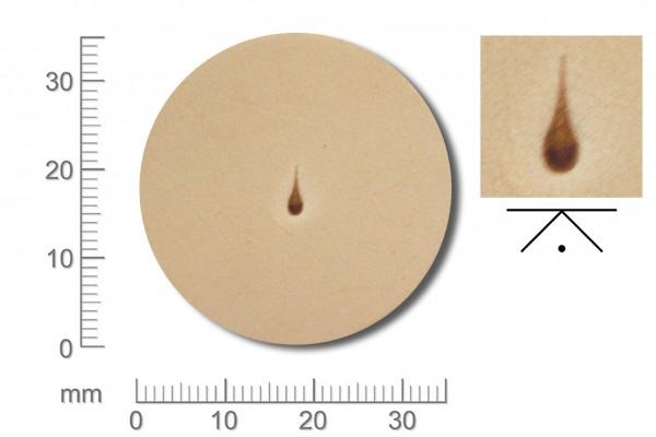 Rickert - Punziereisen / Prägewerkzeug H907 ( 2d-12 )
