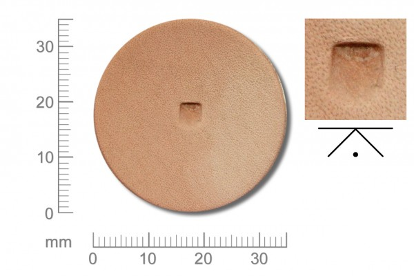 Rickert - Punziereisen / Prägewerkzeug B203 ( 2a-11 )