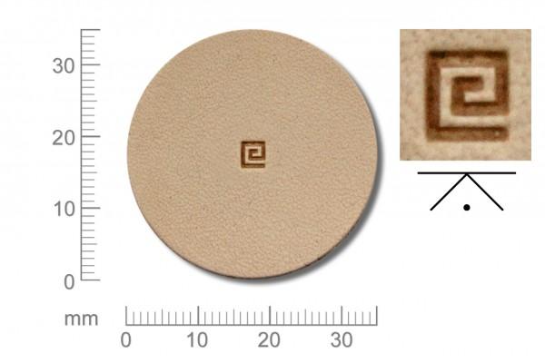 Rickert - Punziereisen / Prägewerkzeug O30 ( 2b-06 )
