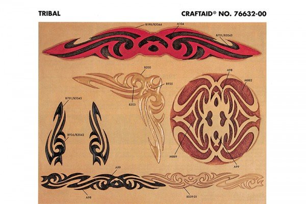 "Craftaid / Schablone ""Tribal"""