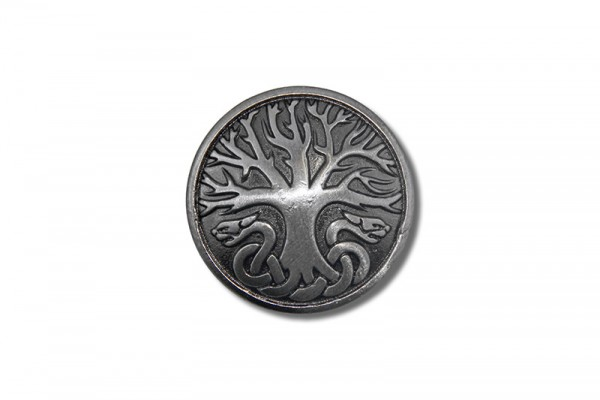 Concho, Celtic Tree of Life 1 (antik silber)