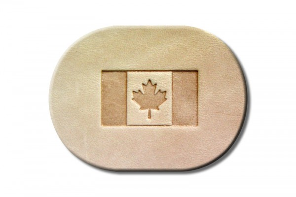 "Punzieraufsatz / Lederstempel ""Kanada Flagge"""