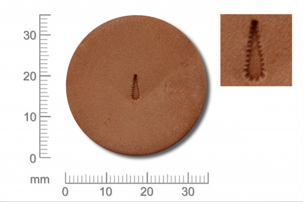Punziereisen / Prägewerkzeug / Lederstempel H360 ( B-17 )