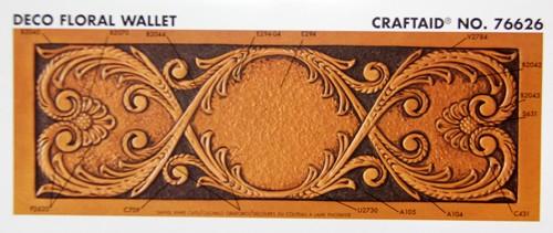 """Craftaid / Schablone """"Deko Floral Wallet"""""""