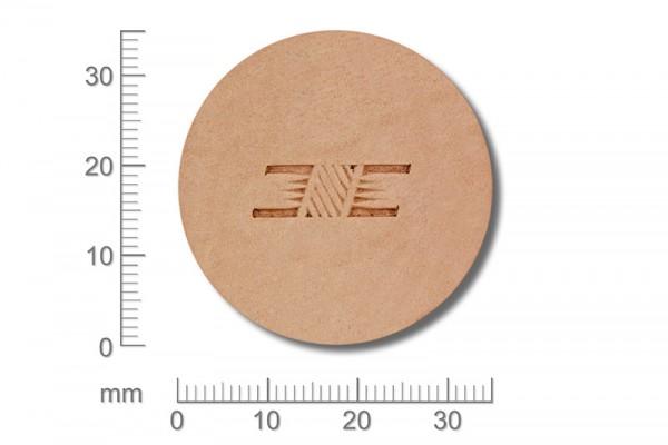 Punziereisen / Prägewerkzeug / Lederstempel X505 ( D II-03 )