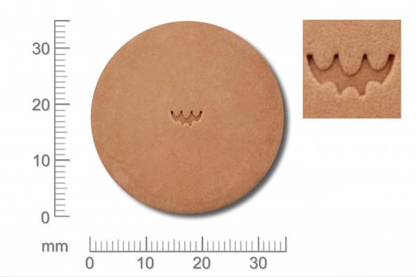 Punziereisen / Prägewerkzeug / Lederstempel F923 ( E-14 )