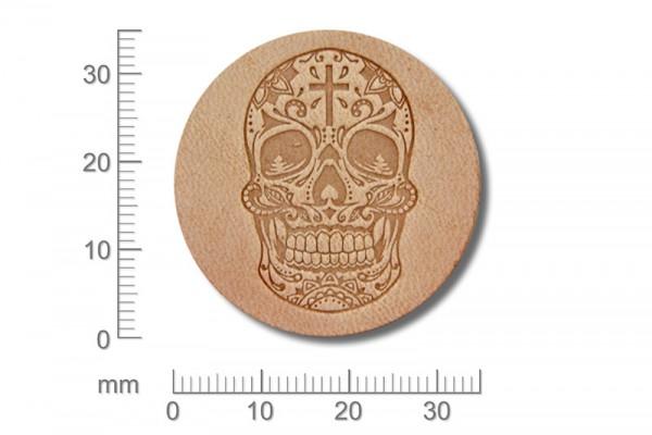 Sergey Neskromniy stamping tool Mexican Skull