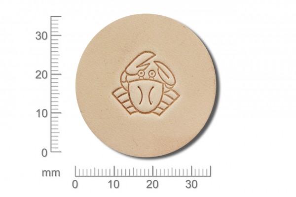 Craft Japan Punziereisen / Prägewerkzeug E689 ( 1u-19 )
