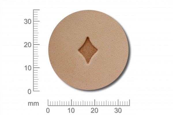 Punziereisen / Prägewerkzeug / Lederstempel O89 ( G-18 )