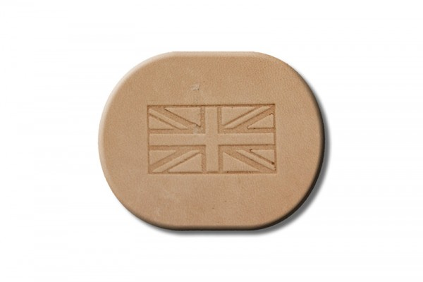 "Punzieraufsatz / Lederstempel ""Flagge England"""