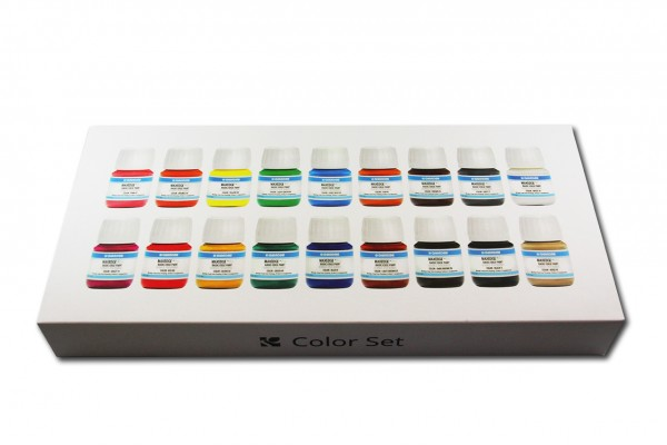 MAXEDGE™ Pro Basic Edge Paint Color Set