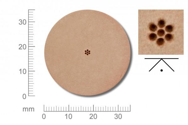Rickert - Punziereisen / Prägewerkzeug A100 ( 2a-01 )