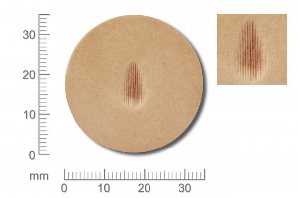 Punziereisen / Prägewerkzeug / Lederstempel P209 ( TF-04 )