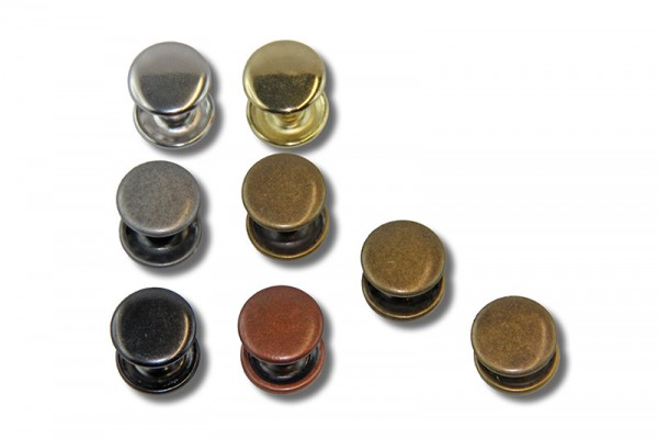 Doppel - Rundkopfnieten (groß, Ø 13,2 mm)