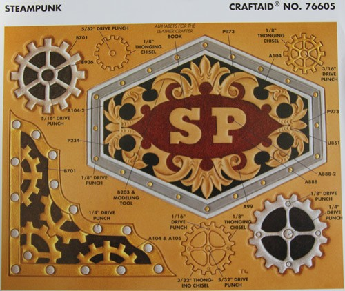 "Craftaid / Schablone ""steampunk"""