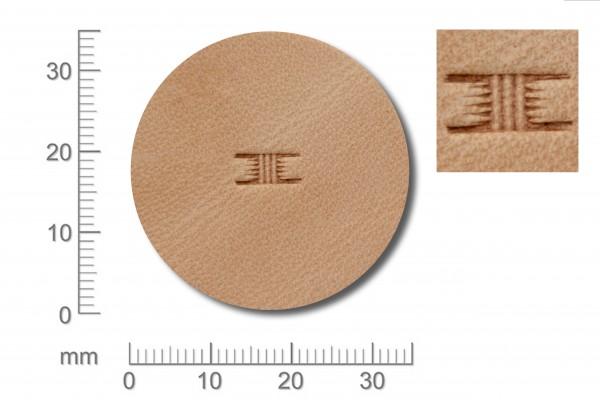 *Punziereisen / Prägewerkzeug / Lederstempel X500S ( S IV-06 )