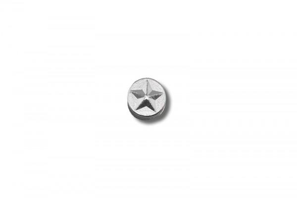 Dekorative Schraubnieten (6 mm) Stern