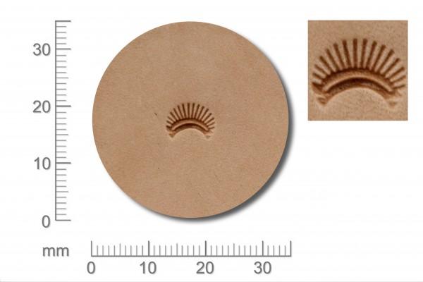 *Punziereisen / Prägewerkzeug / Lederstempel D436 ( F-09 )