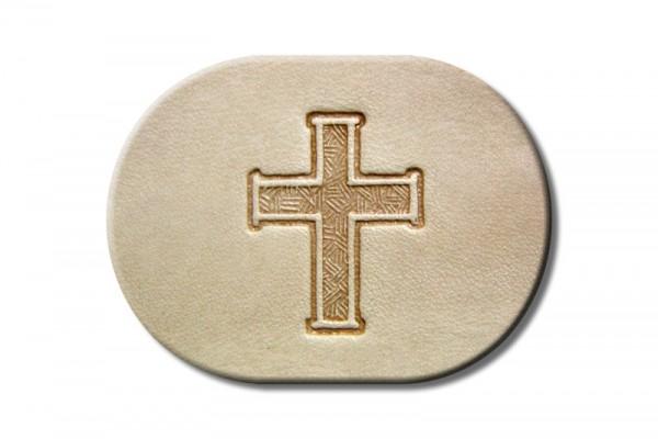 "Punzieraufsatz / Lederstempel ""Kreuz"""