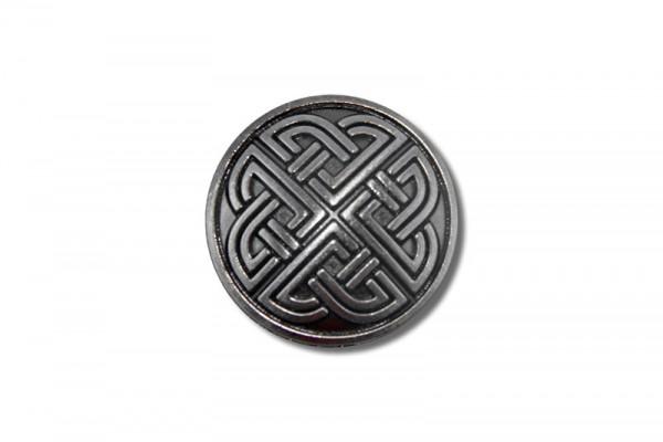 Concho, Celtic Knot 3 (antik silber)