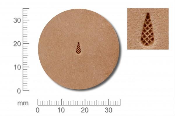 Punziereisen / Prägewerkzeug / Lederstempel A104-2 ( F-12 )