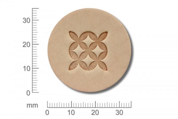 Punziereisen / Prägewerkzeug / Lederstempel K136 ( G-12 )