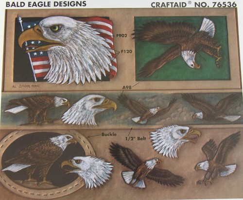 "Craftaid / Schablone ""bald eagle designs"""