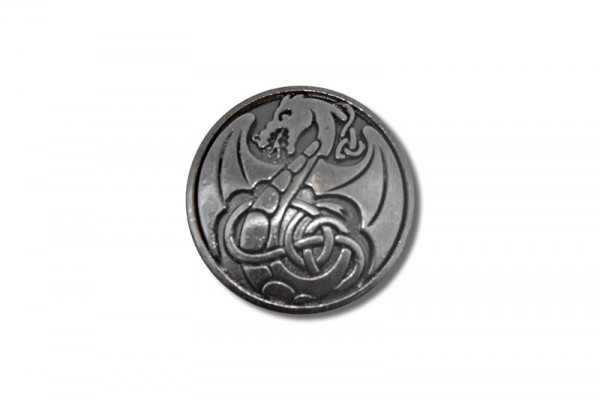 Concho, Celtic Dragon 1 (antik silber)