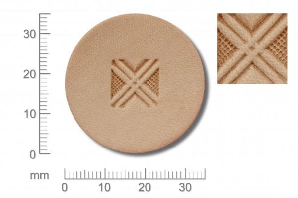 Punziereisen / Prägewerkzeug / Lederstempel G538 ( D III-07 )