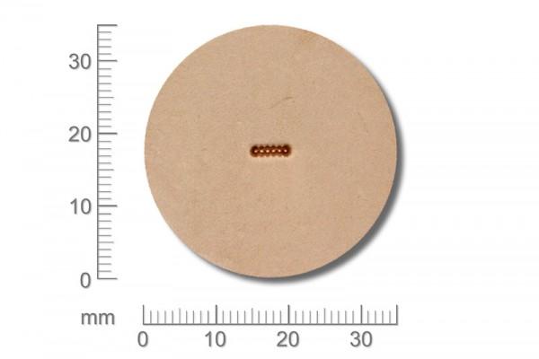 Craft Japan Punziereisen / Prägewerkzeug A101 ( 1m-15 )