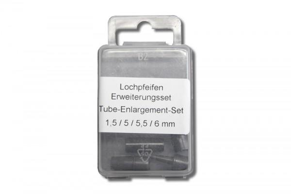 Selzer Lochpfeifen - Erweiterungs - Set (1,5 - 6,0 mm)
