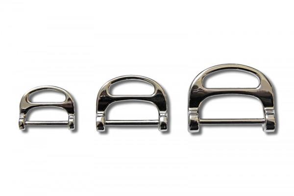 Form - D - Ring mit Steg
