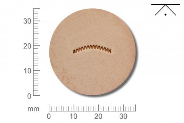Rickert - Punziereisen / Prägewerkzeug V462 ( 2c-12 )
