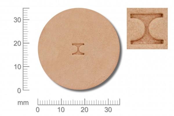 Punziereisen / Prägewerkzeug / Lederstempel D443S ( D II-10 )