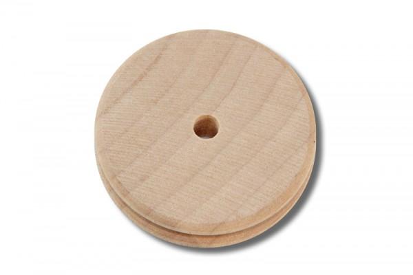 Kantenpolierscheibe / Kantenglätter aus Holz