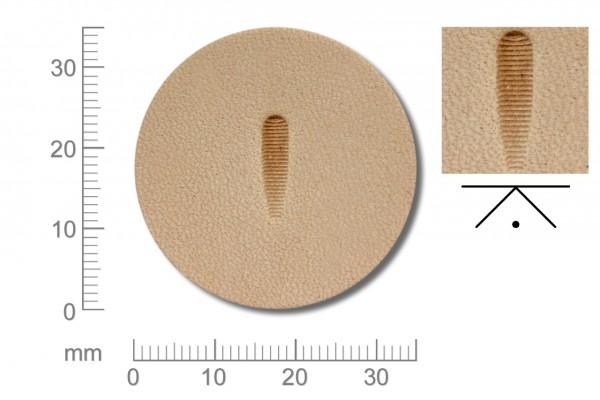 Rickert - Punziereisen / Prägewerkzeug P369 ( 2c-02 )