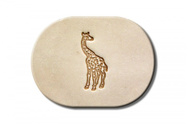 """Punzieraufsatz / Lederstempel """"Giraffe"""""""