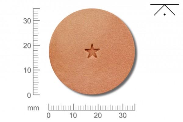 Rickert - Punziereisen / Prägewerkzeug O50 ( 2b-09 )